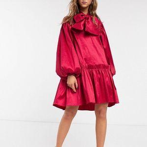 Sister Jane Oversized Mini Smock Dress